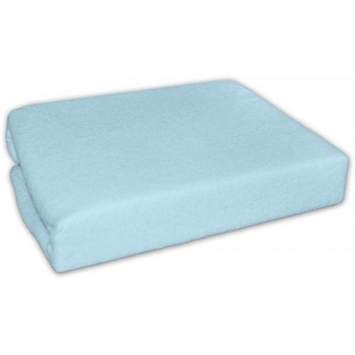 Froté prostěradlo 140x70cm -  modré, 140x70