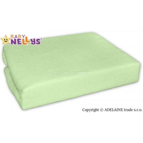 Nepromokavé prostěradlo 120x60cm - zelené, 120x60