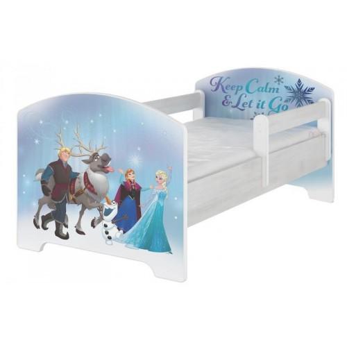 BabyBoo Dětská postel Disney, 160x80 + pěnová matrace zdarma - Frozen, D19, 160x80