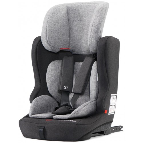 Autosedačka FIX2GO Black/Grey ISOFIX 9-36kg Kinderkraft 2019