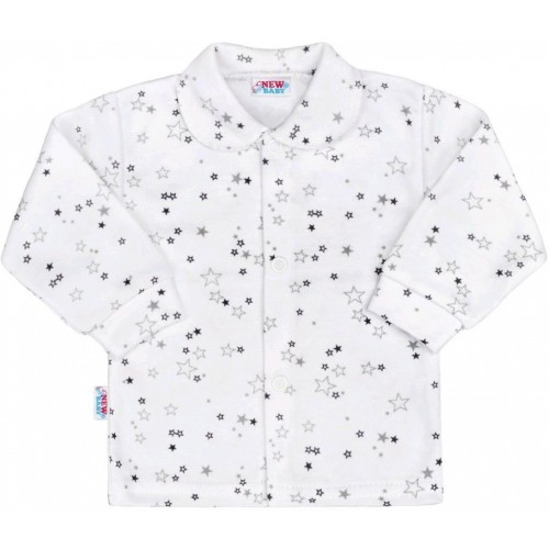 Kojenecký kabátek New Baby Magic Star šedý Šedá 68 (4-6m)