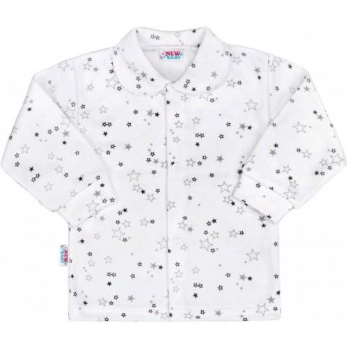 Kojenecký kabátek New Baby Magic Star šedý Šedá 74 (6-9m)