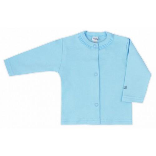 Kojenecký kabátek Bobas Fashion Mini Baby tyrkysový Tyrkysová 68 (4-6m)