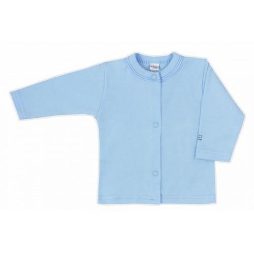 Kojenecký kabátek Bobas Fashion Mini Baby modrý Modrá 74 (6-9m)