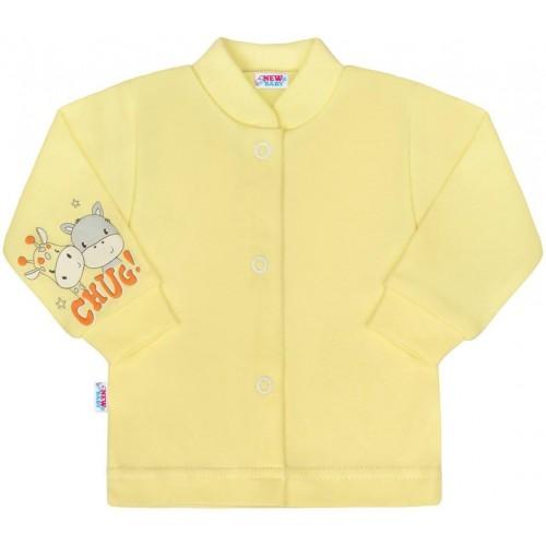 Kojenecký kabátek New Baby chug žlutý Žlutá 74 (6-9m)