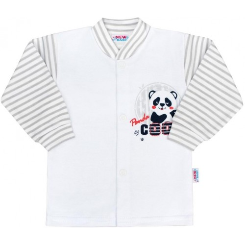 Kojenecký kabátek New Baby Panda Šedá 56 (0-3m)