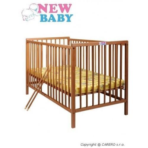 Buková postýlka NEW BABY Alex - přírodní