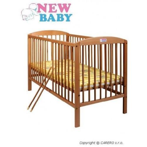 Buková postýlka NEW BABY Juliet - přírodní